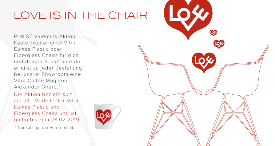 LOVE IS IN THE CHAIR